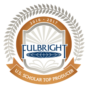 Top Fulbright scholar producer 2016-2017