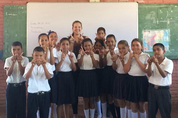 Laura Linde, Peace Corps volunteer