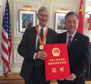 John Kutzbach with Chinese Embassy