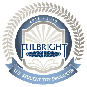 Fulbright Top Producer emblem