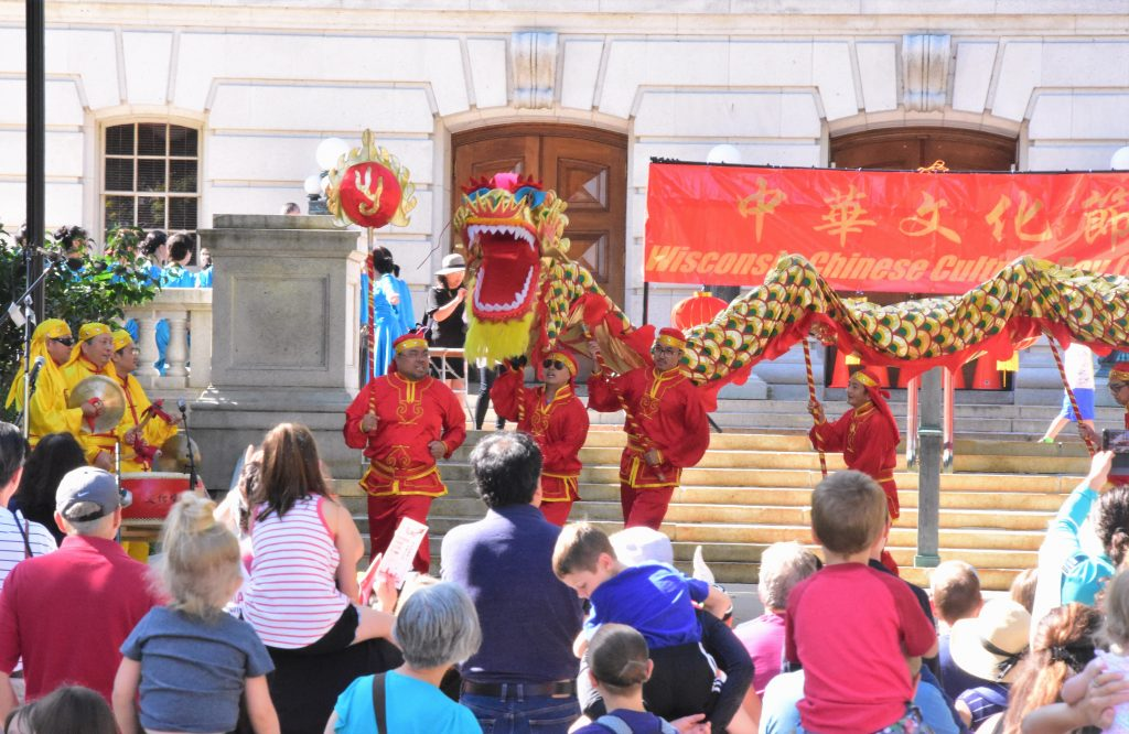 Crowds gather on Wisconsin Chinese Culture Day