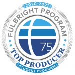 Fulbright Program Top Producer Student Programs logo