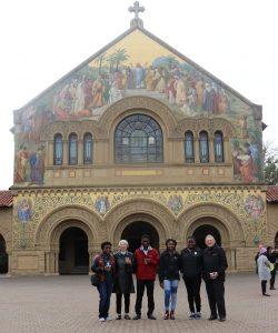 K-M scholars tour Stanford University