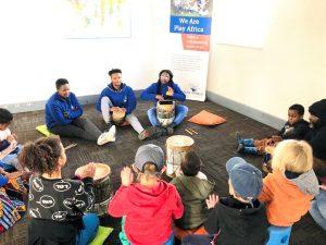 Miranda Tichareva teaches through music at Play Africa